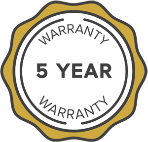 5 Year Ceramic Coating Warranty